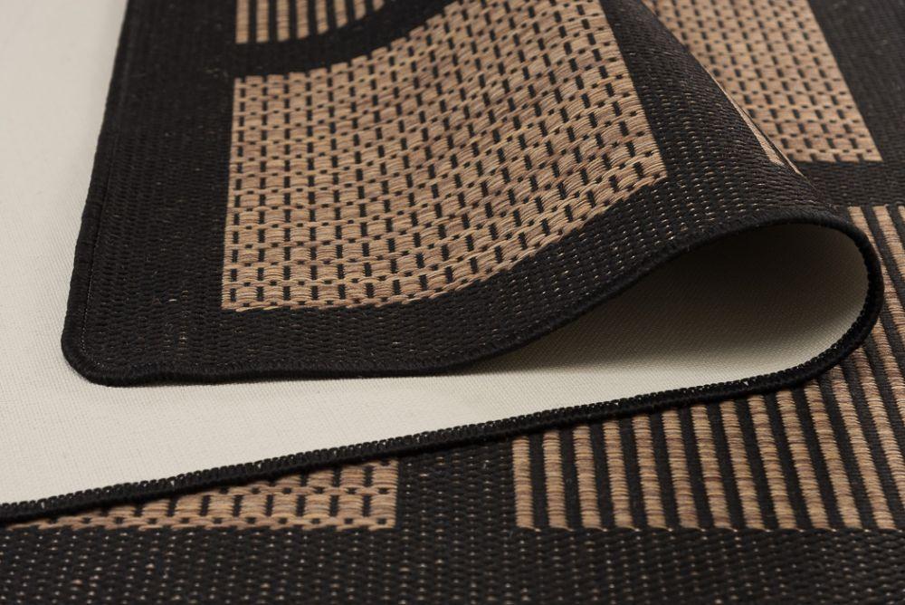 Brick Line Coffee/Black 80x150