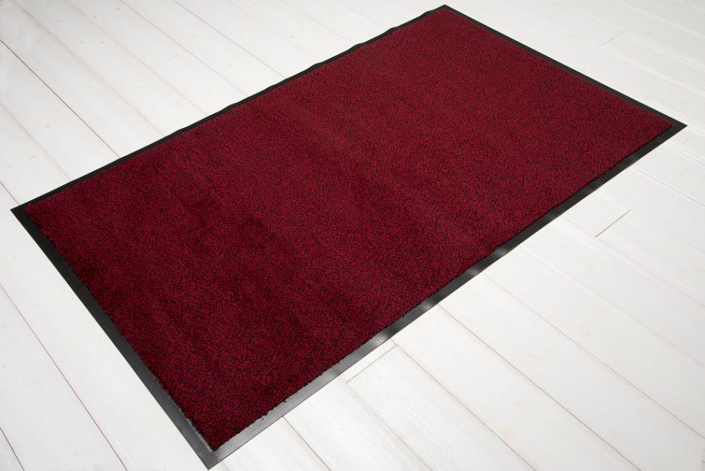 Clean röd/svart 90x150