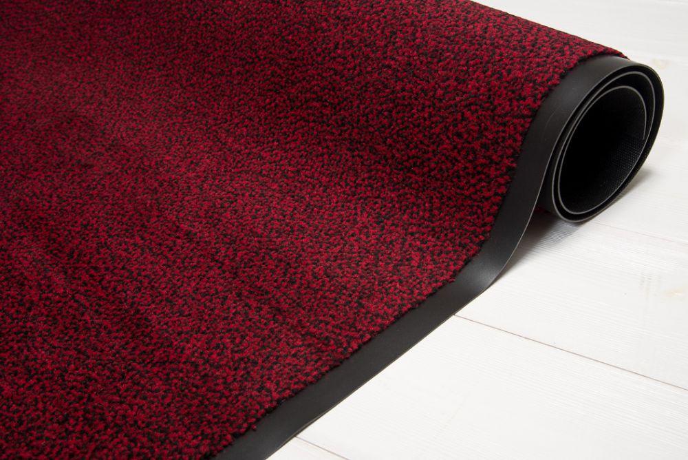 Clean röd/svart 120x180