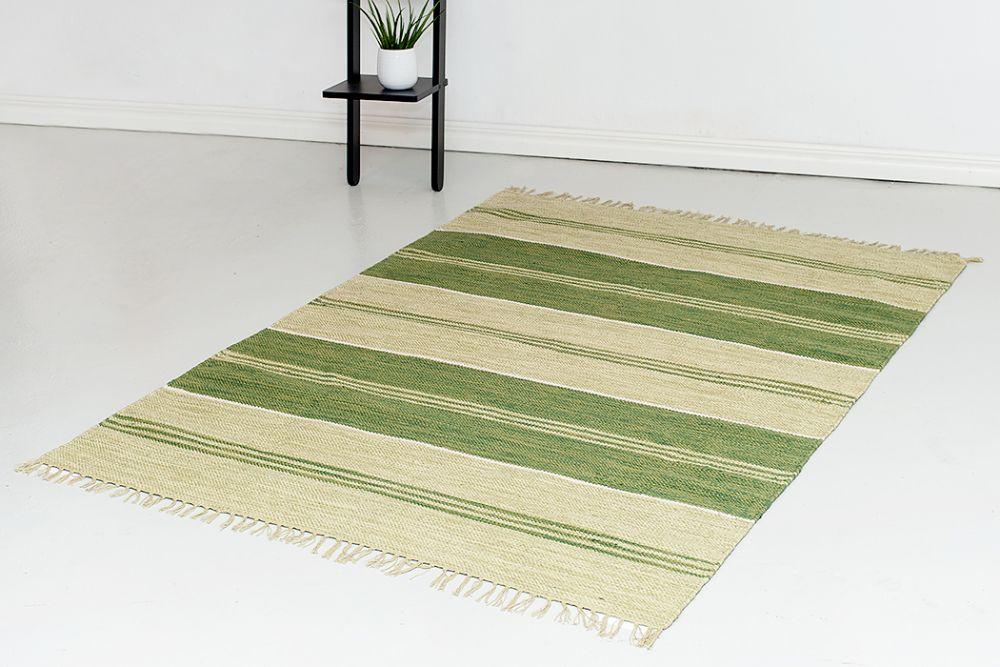 Herrgård grön  160x230