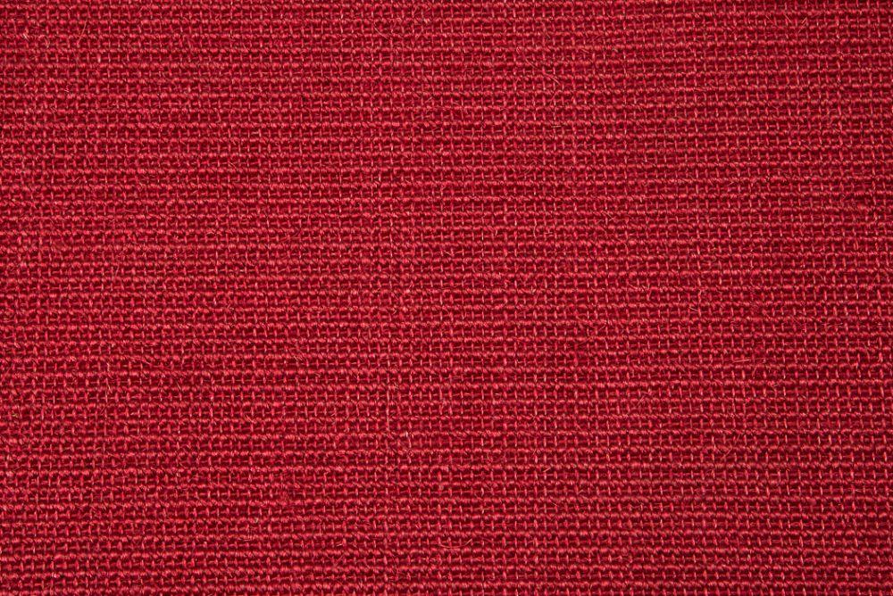 Sisal top Bouclé röd