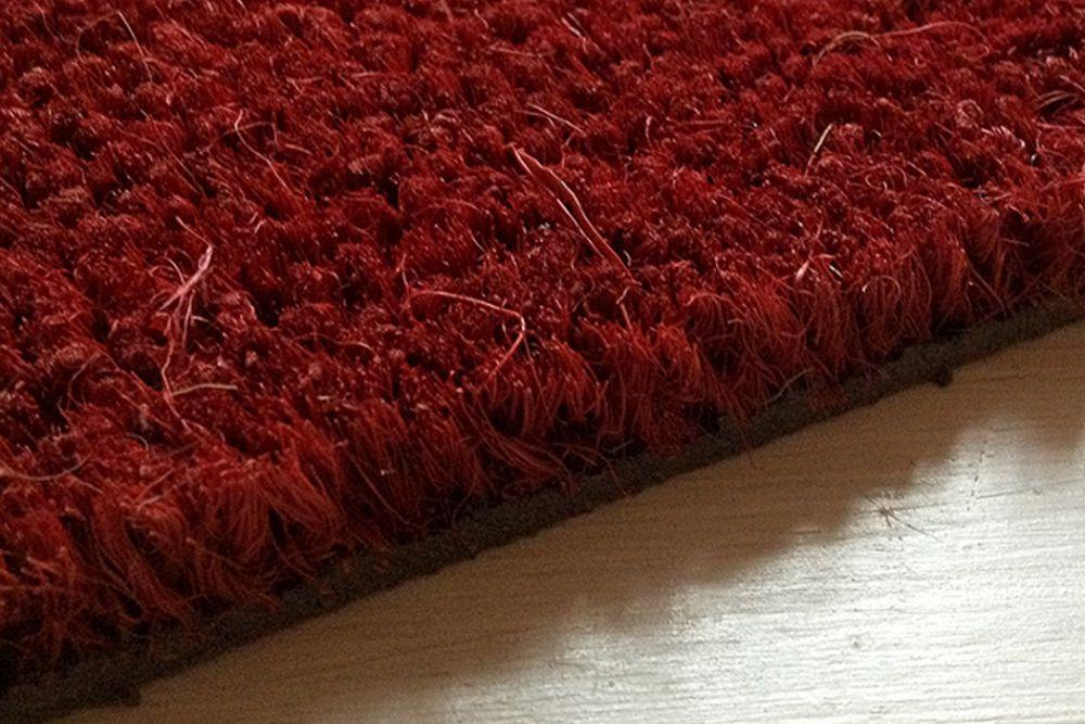 Kokosentré röd