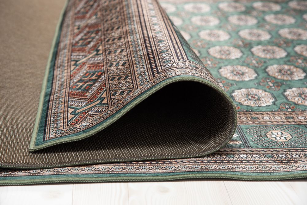 New Bokhara Silk Green 230x330