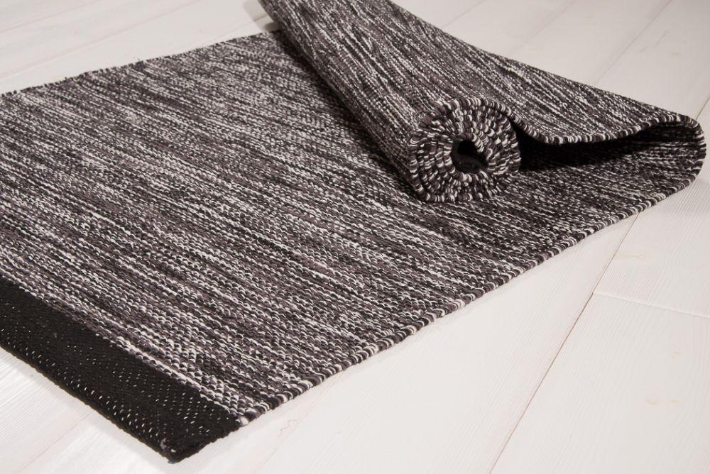 Heby svart-vit 70x150