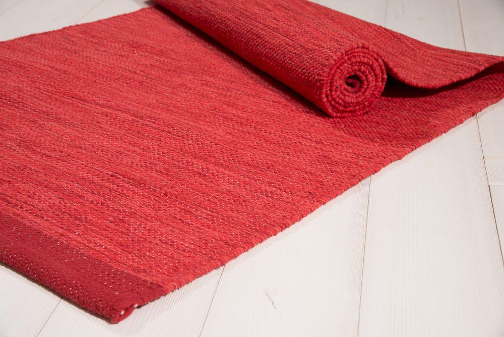 Heby röd 70x150