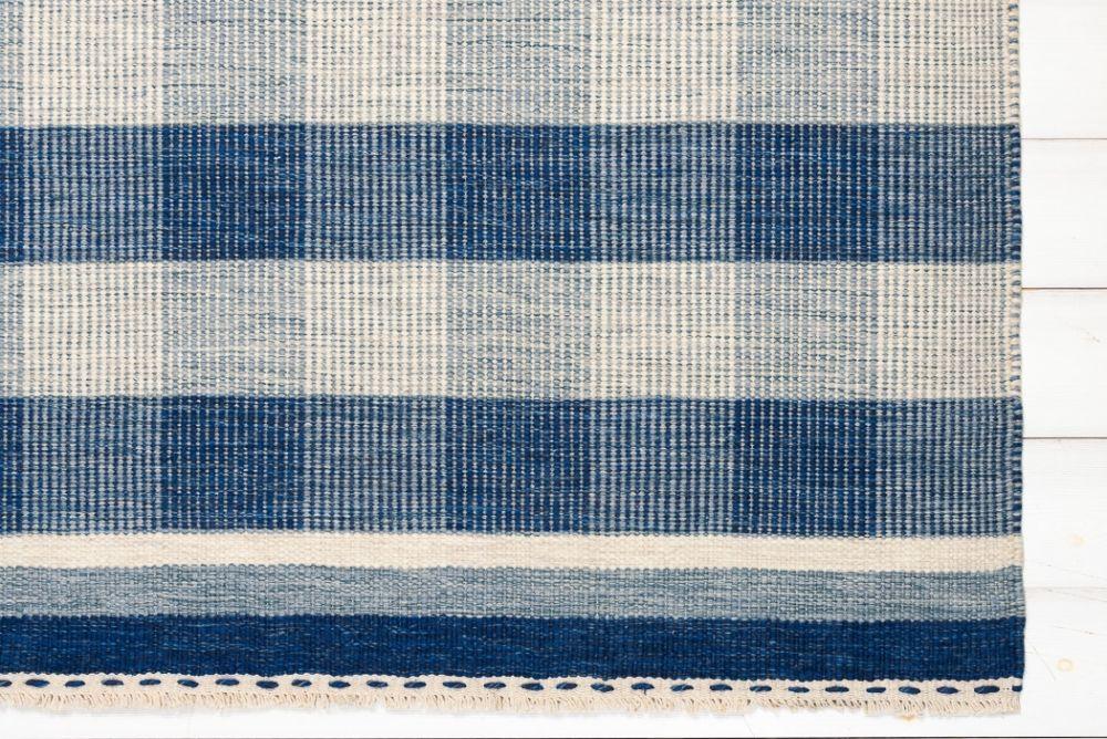 Lino Blue 140x200
