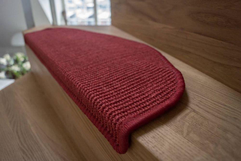 New Sisal Step red