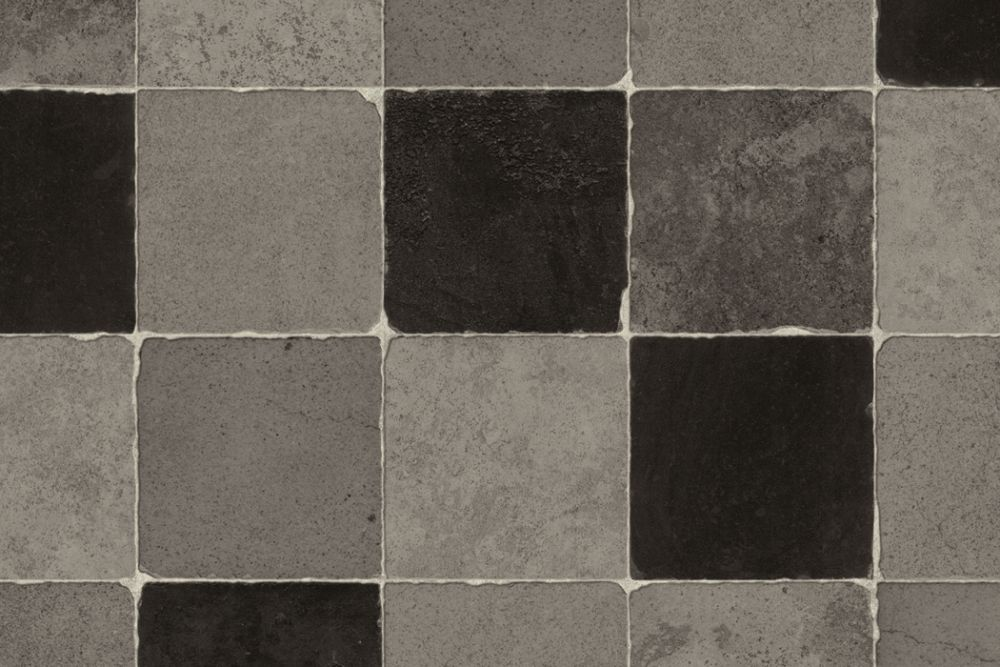 Comfort Vinyl klinker grå/svart