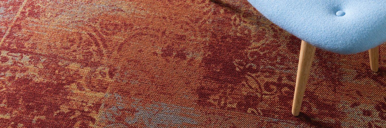 Provbitar på mattor